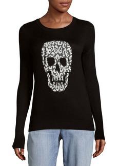 Saks Fifth Avenue Skull Knit Sweater