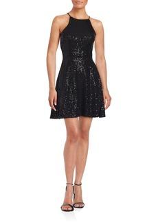Saks Fifth Avenue Sleeveless Embellished Dress
