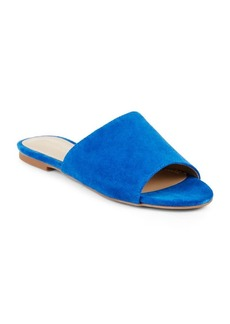 Saks Fifth Avenue Slip-On Leather Slide Sandals