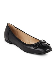 Saks Fifth Avenue Slip-On Round-Toe Flats