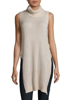 Saks Fifth Avenue Solid Sleeveless Pullover