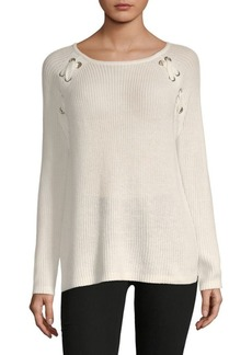 Saks Fifth Avenue Stitched Knit Sweater