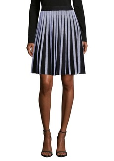 Saks Fifth Avenue Striped Flare Skirt