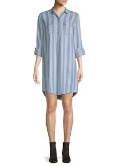 Saks Fifth Avenue Long-Sleeve Shirtdress