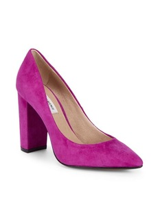 Saks Fifth Avenue Suede Pumps