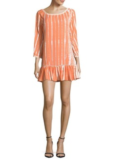Saks Fifth Avenue Tassel Trim Dress