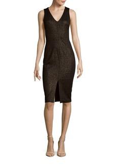 Saks Fifth Avenue Textured Sheath Dress