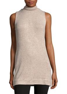 Saks Fifth Avenue Textured Sleeveless Tunic