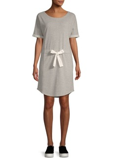 Saks Fifth Avenue Tie Waist Terry Dress