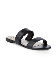 Saks Fifth Avenue Tristan Leather Slides