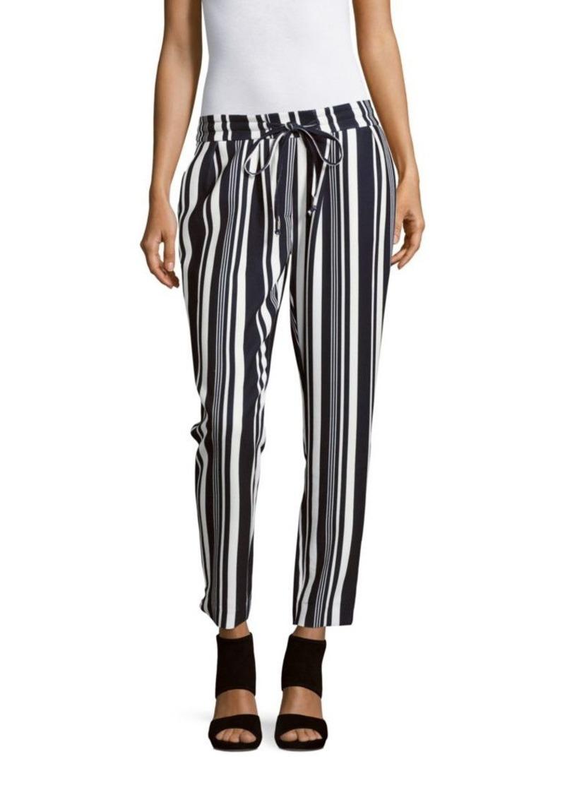 Saks Fifth Avenue Two-Tone Drawstring Pants