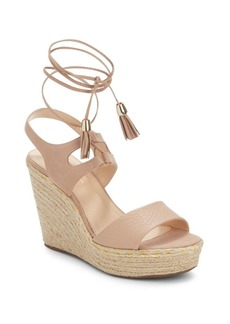 Saks Fifth Avenue Varia Ankle Strap Wedges