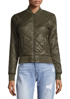 Saks Fifth Avenue Woven Quilted Packable Jacket