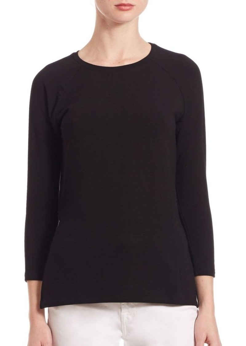 Saks Fifth Avenue x Majestic Filatures French Terry Sweatshirt