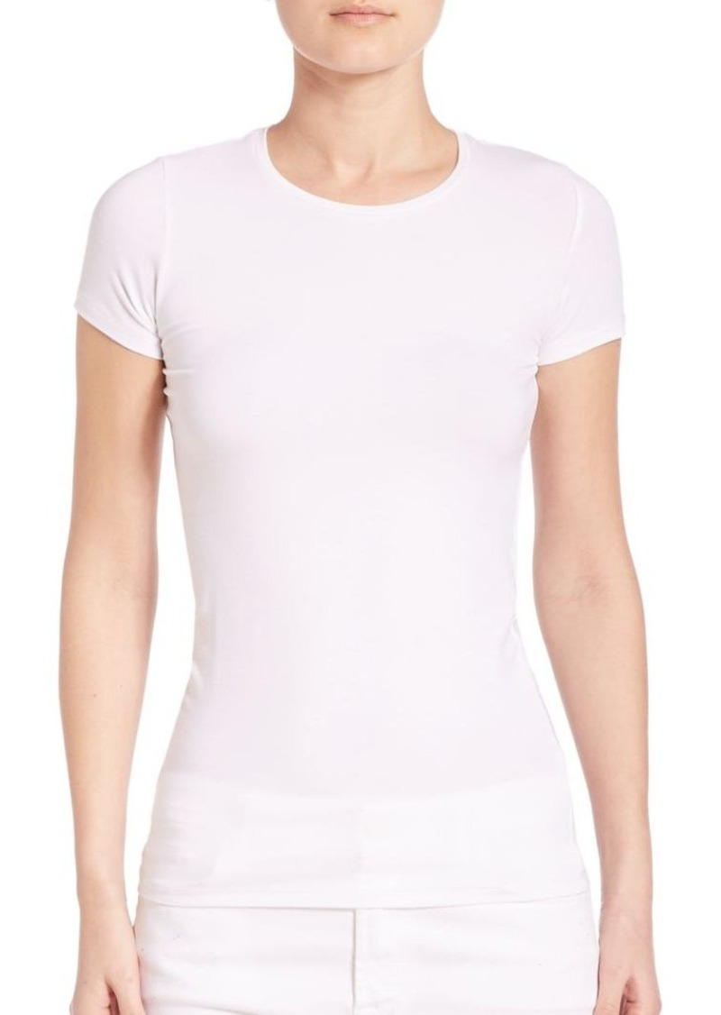 Saks Fifth Avenue x Majestic Filatures Soft Touch Short-Sleeve Tee