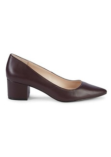 Saks Fifth Avenue Sandra Leather Pumps