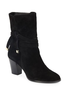 Saks Fifth Avenue Saxon Suede Booties