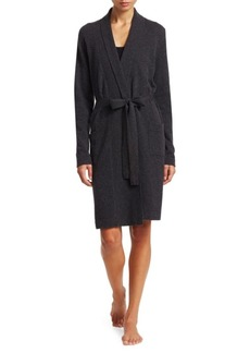 Saks Fifth Avenue COLLECTION Short Cashmere Bathrobe