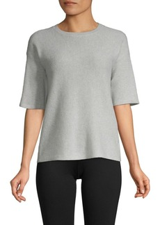 Saks Fifth Avenue Short-Sleeve Cashmere Sweater