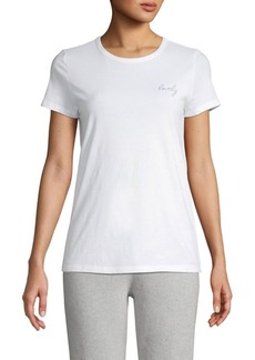 Saks Fifth Avenue Short-Sleeve Cotton Tee