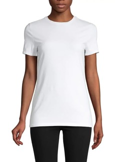 Saks Fifth Avenue Short-Sleeve Essential Fit Crewneck T-Shirt