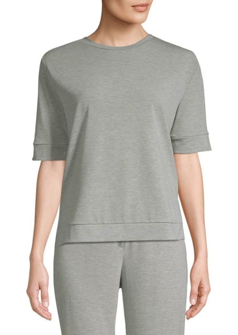 Saks Fifth Avenue Short Sleeve Fleece T-Shirt