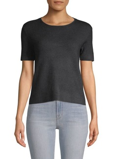 Saks Fifth Avenue Short-Sleeve Heathered Tee