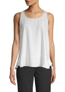 Saks Fifth Avenue Sleeveless Peplum Blouse