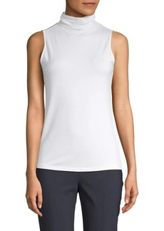 Saks Fifth Avenue Slouch Turtleneck Sleeveless Top