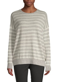 Saks Fifth Avenue Striped Long-Sleeve Sweater