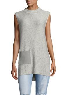 Saks Fifth Avenue Stylish Sleeveless Sweater