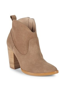 Saks Fifth Avenue Suede Booties