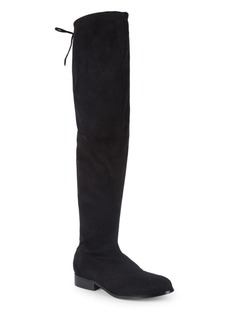 Saks Fifth Avenue Suede Over-The-Knee Stretch Boots
