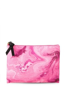 Saks Fifth Avenue Swirl Printed Pouch