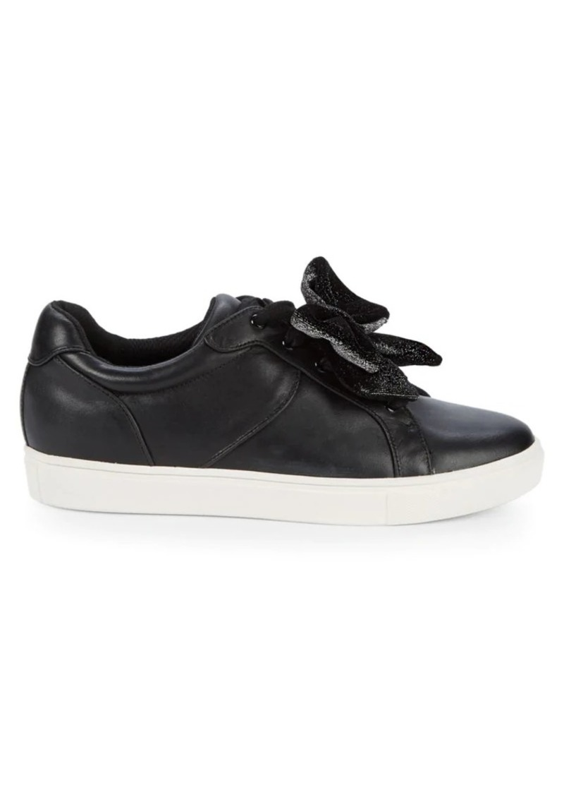 Saks Fifth Avenue Tabee Ribbon Low-Top Sneakers