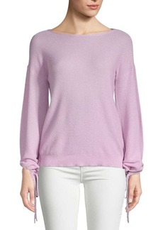 Saks Fifth Avenue Textured Link Sweater