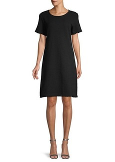 Saks Fifth Avenue Textured Shift Dress