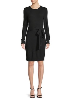 Saks Fifth Avenue Tie-Waist Knit Dress