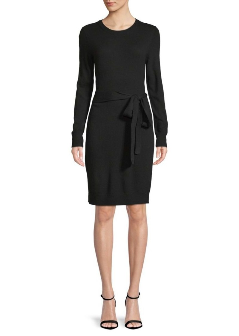 Saks Fifth Avenue Tie-Waist Knit Dress