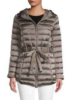 Saks Fifth Avenue Tie-Waist Packable Jacket