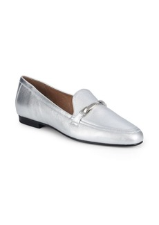 Saks Fifth Avenue Topmania Leather Loafers