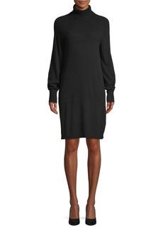 Saks Fifth Avenue Turtleneck Knit Dress