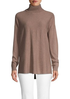 Saks Fifth Avenue Turtleneck Wool Blend Sweater