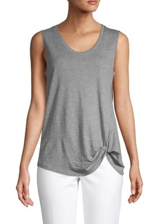 Saks Fifth Avenue Twist-Front Tank Top