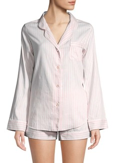 Saks Fifth Avenue Two-Piece Cotton Shorty Pajama Set