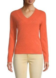 Saks Fifth Avenue V-Neck Cashmere Sweater