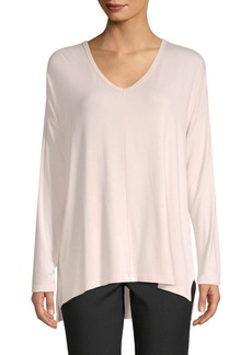 Saks Fifth Avenue V-Neck High-Low Tunic
