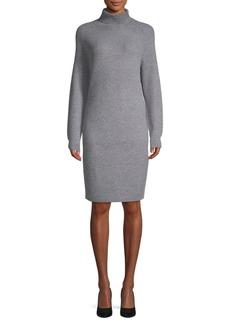 Saks Fifth Avenue Waffle Stitched Sheath Dress