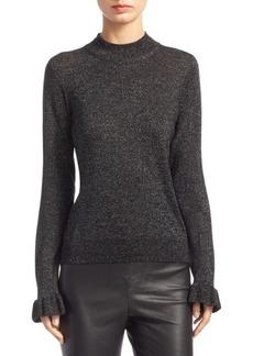 Saks Fifth Avenue Wool-Blend Mockneck Sweater