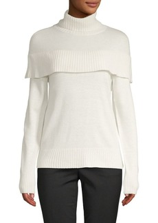 Saks Fifth Avenue Yoke Flounce Pullover